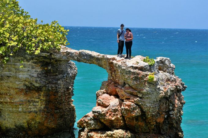 This is on the Southwest Coast of Puerto Rico, a town called Cabo Rojo.  This town really cover a great territory and has many other beautiful places to see.