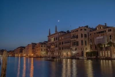 Moon over Venice