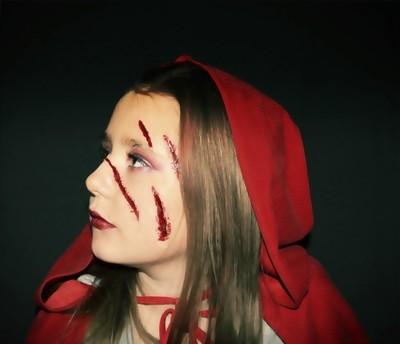 Kiera Halloween Red Riding Hood