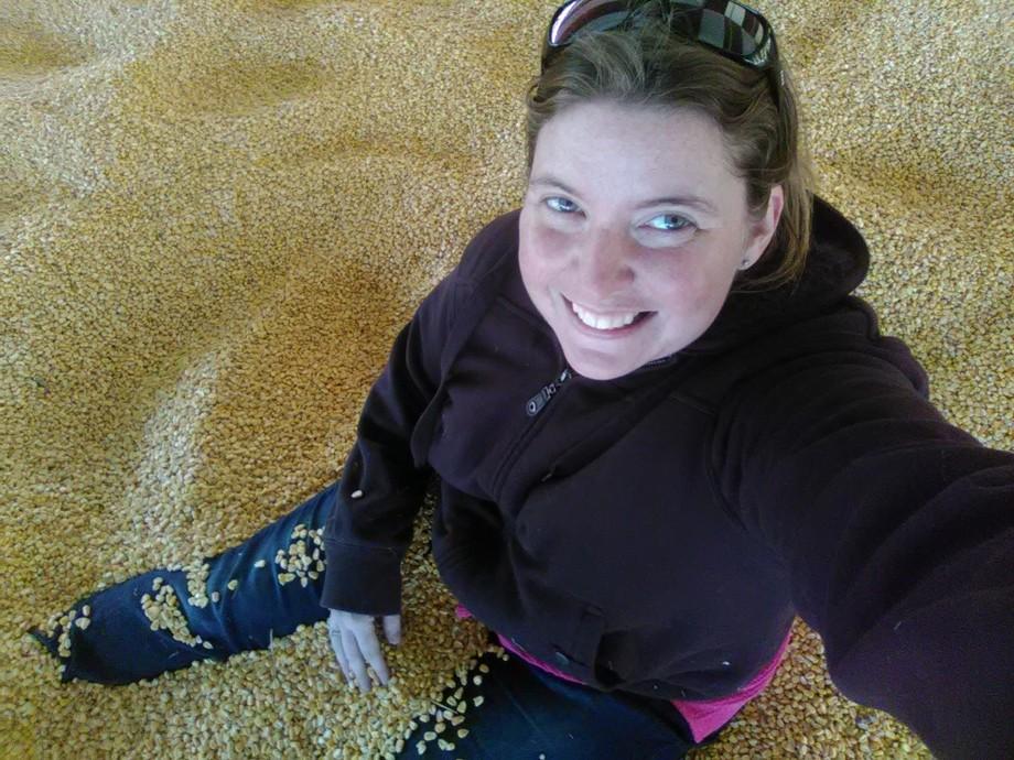 Corn pit! Fun times ????