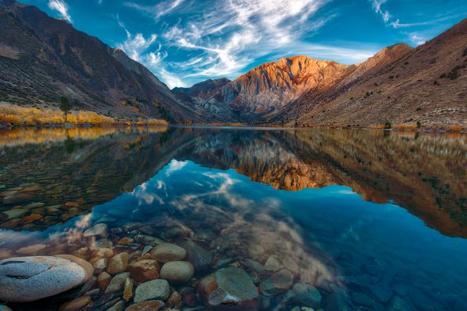 Convict Lake sunrise by clownsonvelvet - Simply HDR Photo Contest
