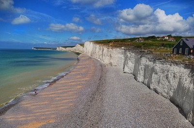 Beautiful day near Dover...