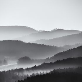 a foggy morning in the Bohemian Switzerland with my friends Torsten Liebert and Sandro Schmidt