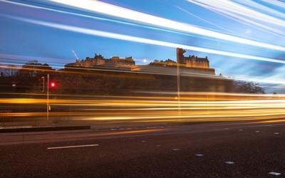 Edinburgh Light Trails