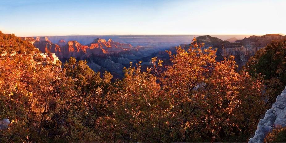 Grand Canyon Sunset at the North Rim