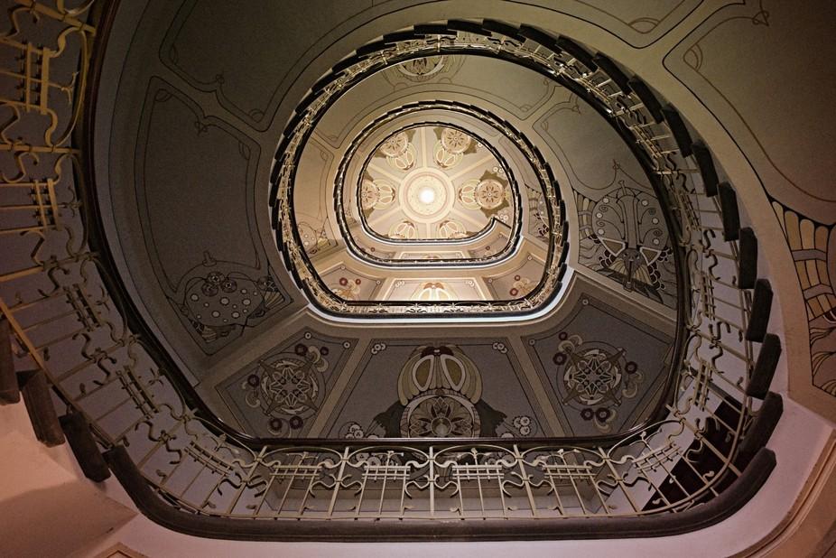 Riga staircase