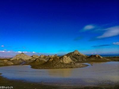 Mud Volcanoes Gobustan , Azerbaijan