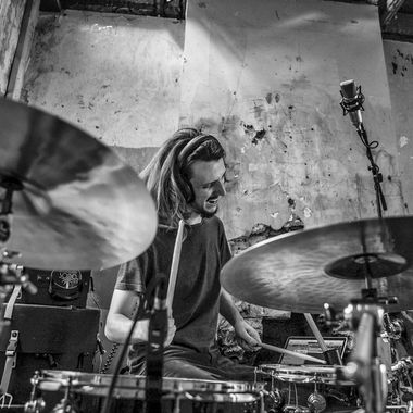 From a shoot with the wonderful drummer, Jake Bradford-Sharp.