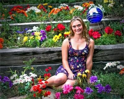 Kylee in the Garden