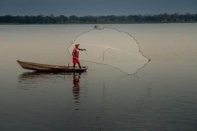 Pescador de água doce