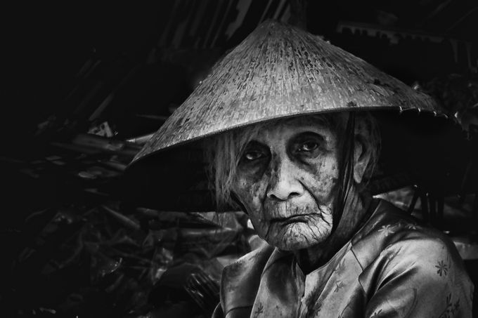 vegetable seller Hoi An markets by stuartjamieson - Explore Asia Photo Contest