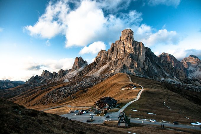 Giau Pass by -Fabrizio- - A Road Trip Photo Contest