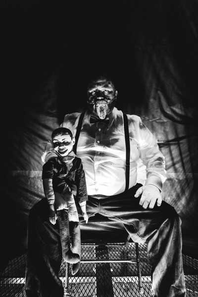 Scary Ventriloquist