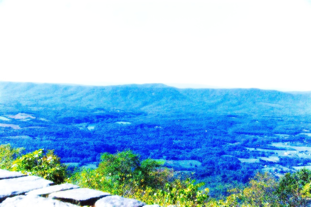 Taken on the edge of Skyline Drive in Virginia viewing the Smokey Mountains.