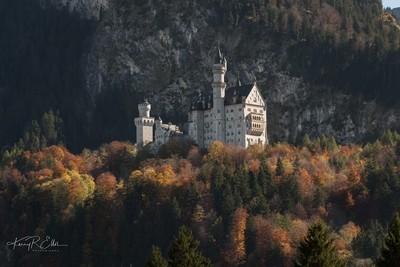 Neuschwanstein Dressed in Autumn's Colors 3