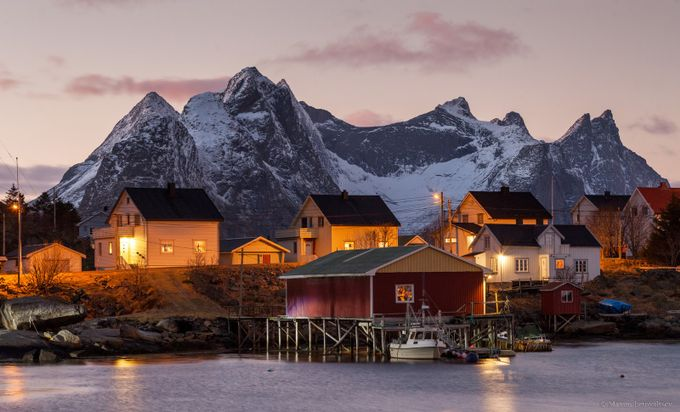 Reine by maximletovaltsev - Towns In The Winter Photo Contest