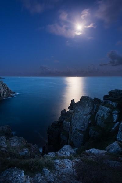 Lands End Moonlight