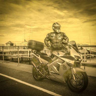 VFR complete with Power Ranger John .......... :-)