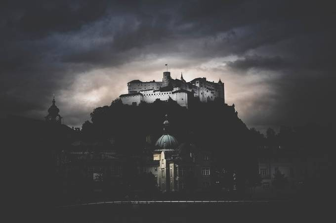 Eerie Overwatch by vanOgtropPhotography - Enchanted Castles Photo Contest