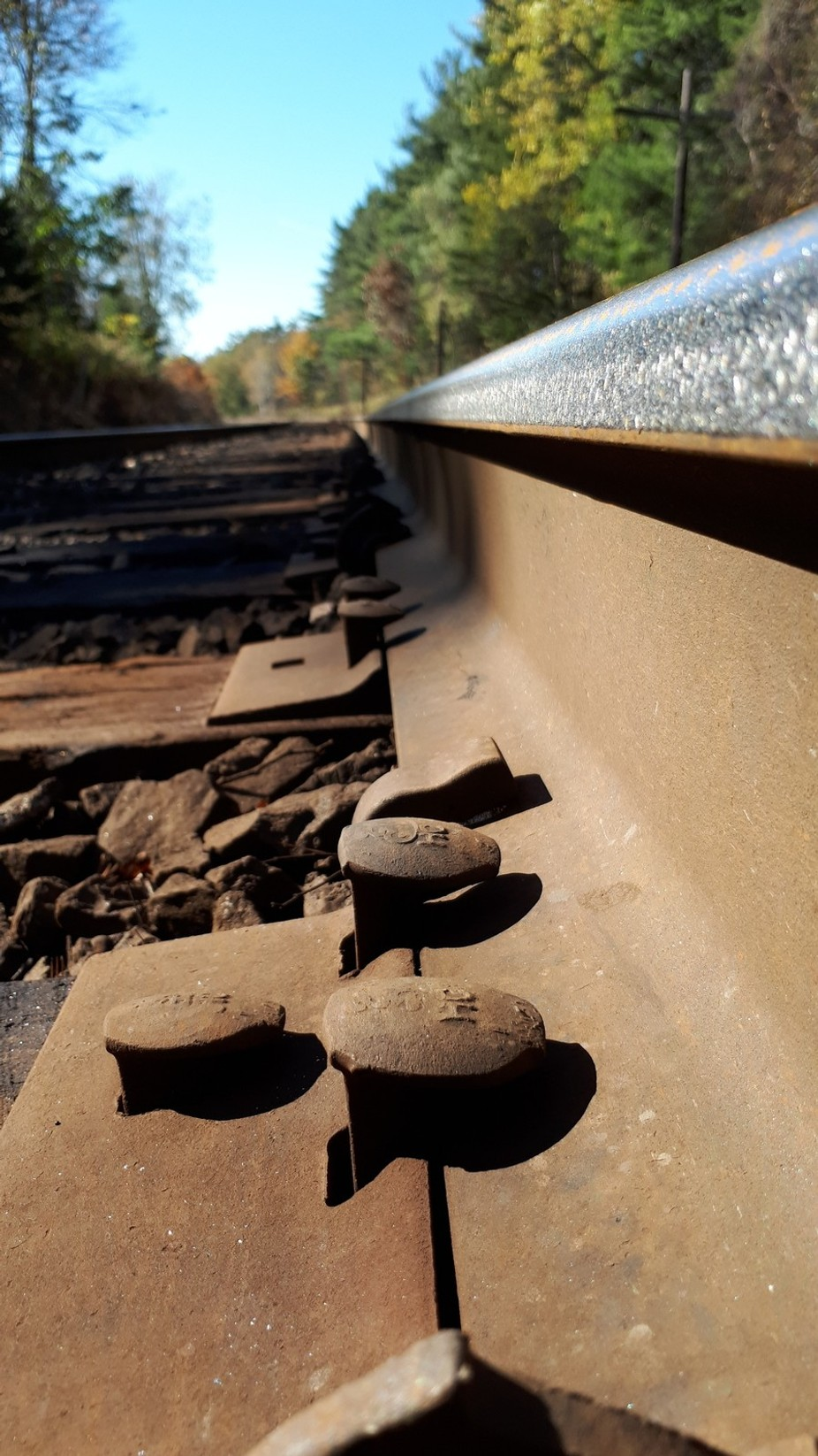 I was trying to get a different look on the tracks but ended up with this pic!! I actually liked ...