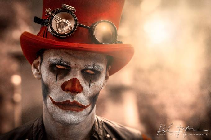 Bad bad bad clown by richtaylor.photography - Halloween Photo Contest 2017