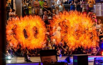 Hillarys Marina Fire Show-1-7