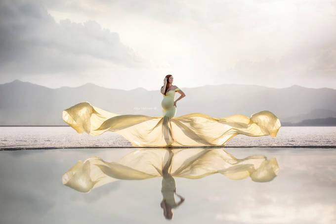 Woman in a Yellow Dress  by AbbyMathison - Creative Reality Photo Contest