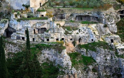 Gravina in Puglia - St Michael's cave rock grottoes