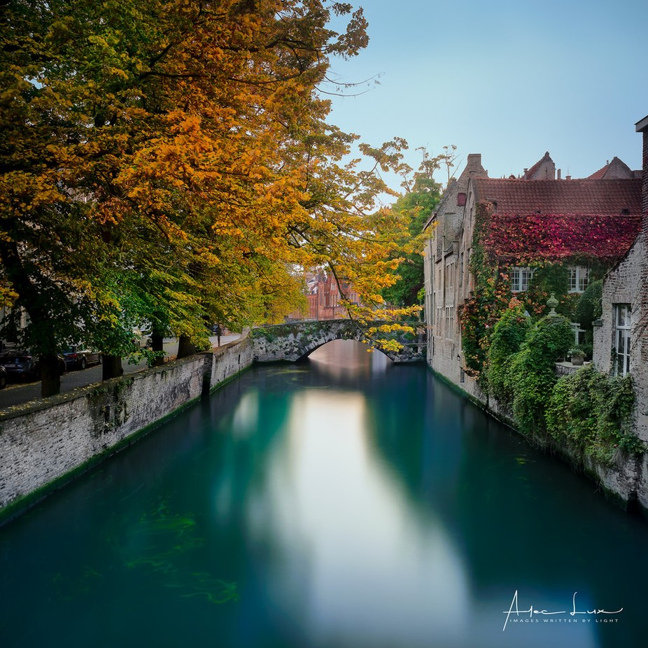 Autum Colors In Bruges II by aleclux - Canals Photo Contest