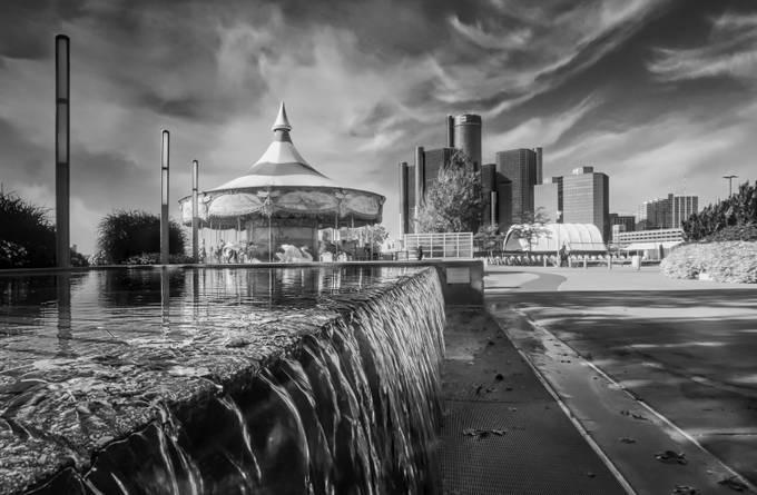 Detroit Riverwalk by adavies - Composition And Leading Lines Photo Contest