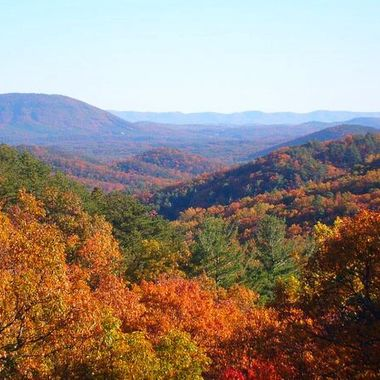 West Virginia in the fall