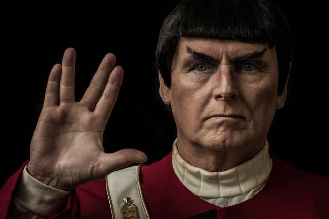Live Long and Prosper by rturnbow - Shooting Hands Photo Contest