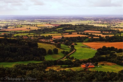 Sutton Bank in the heart of North Yorkshire National Park.