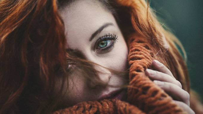 Denisa by RadovanBartekPhotographer - Green Eyes Photo Contest