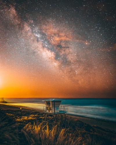 Milky Way at Leo Carillo