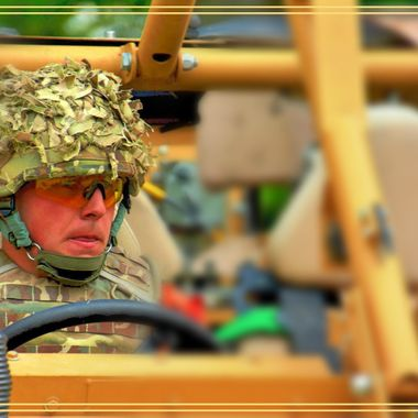 Army driver.