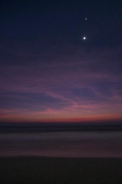 Pre-dawn on the beach