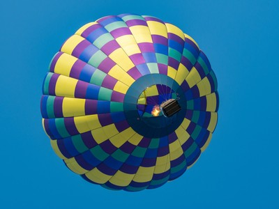 Looking up into the balloon-1000808