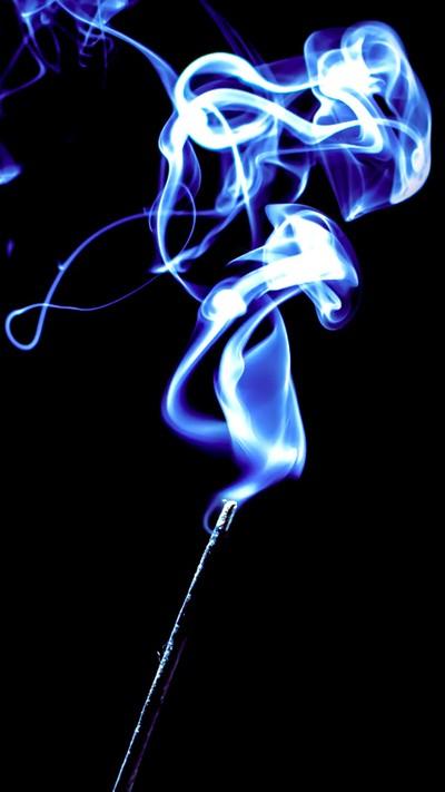 Test shot of smoke