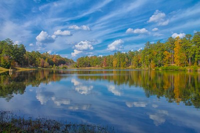 A Sunny Fall Reflection