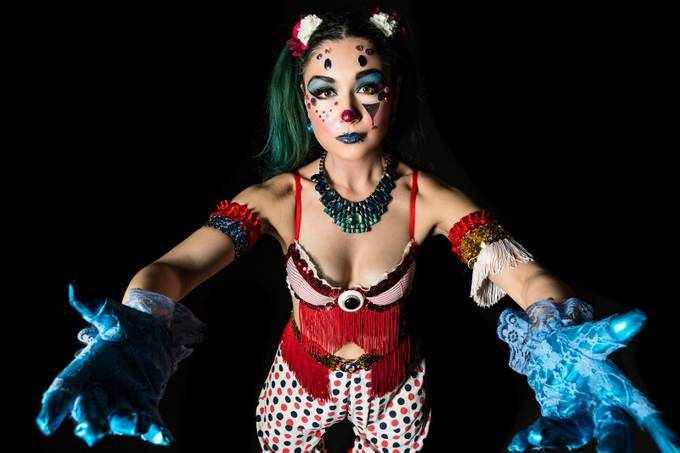 Clowning Around by scottsmallie - Gloves Photo Contest