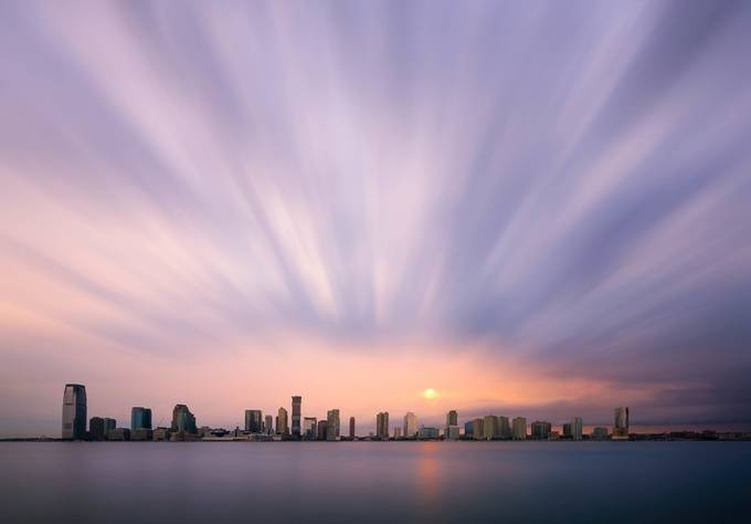Sky Explosion  by dpgoldphotos - The Moving Clouds Photo Contest