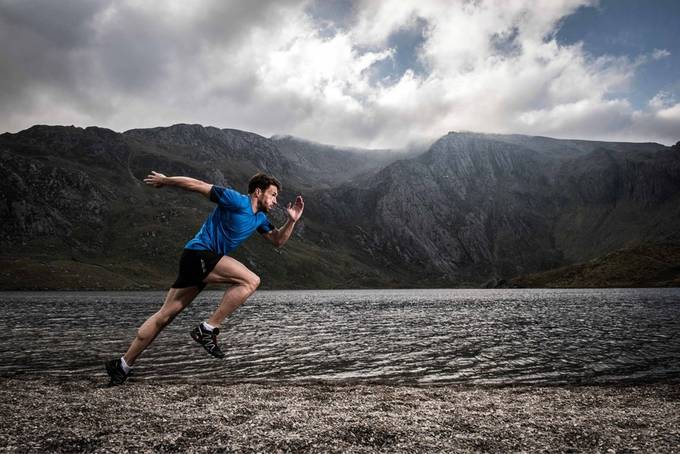 Explosive power in a tranqual landscape by FalkenburgT - Running Photo Contest