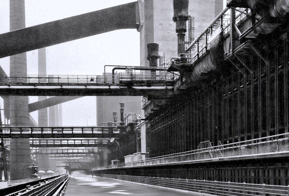 old colliery, Ruhrgebiet, Germany