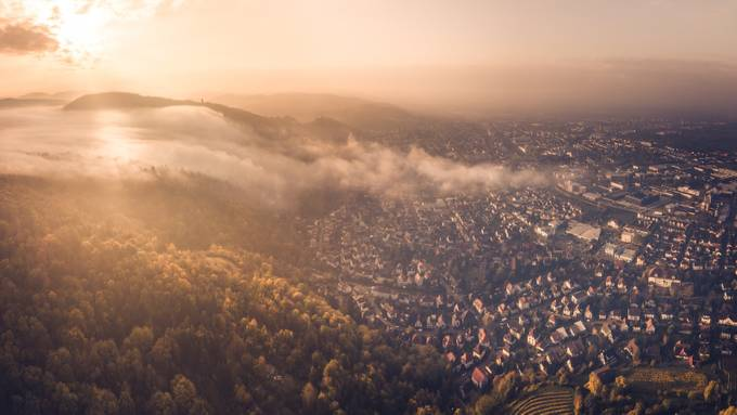 Morning Fog by HatcatPhotography - Fog And City Photo Contest