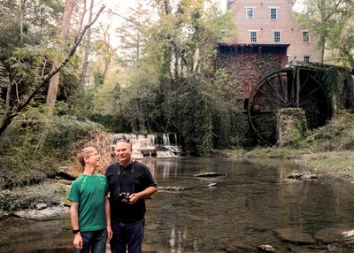 Dad and Nephew, Falls Mill, Tennessee
