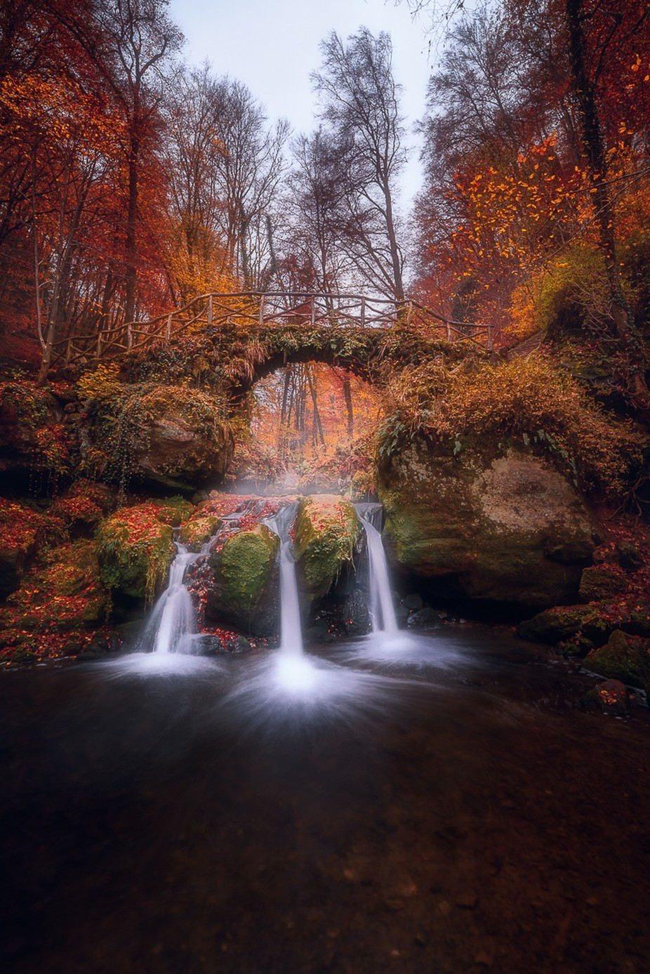 Enchanted waterfall by Fannie_Jowski - Image Of The Month Photo Contest Vol 28