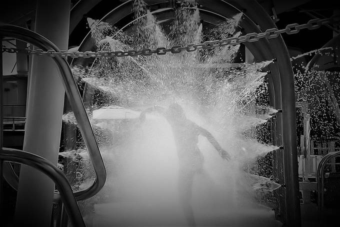 Fountain Dancing by photoflea - Creative Reality Photo Contest