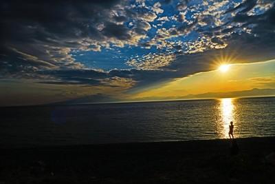 sunset Sicilian