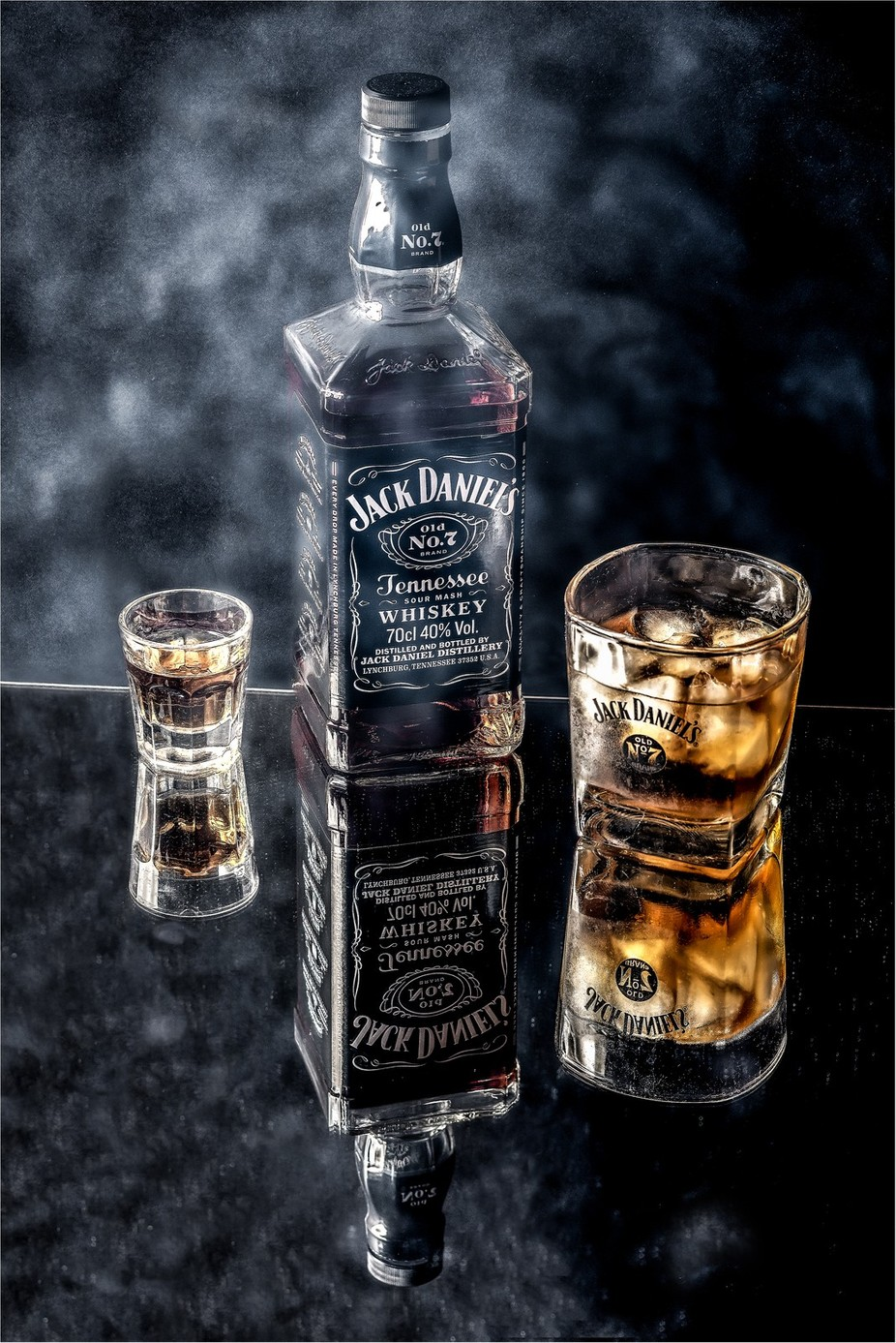 A Shot Of Jack Daniels On The Rocks by Clare1981 - Commercial Shots Photo Contest 2018
